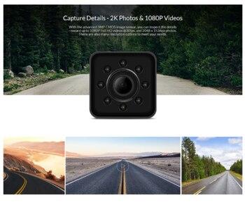 32GB Card+SQ13 Mini HD 1080P Car DVR DV Camera 300 MAh LiPo Battery Wifi