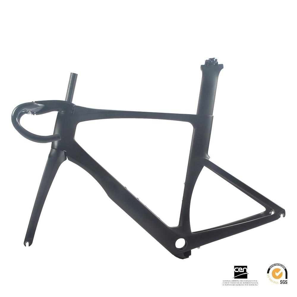 UCI quadro da bicicleta conjunto de quadros de bicicleta de estrada de carbono aero 700C 46 cm 2018