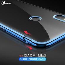GKK Original Case for Xiaomi Mi Mix 3 Slide Armor 2 in 1 Hard plating Anti-drop Back Cover mi mix3 Fundas