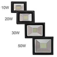 IP65 Waterproof LED Spotlight 10W 20W 30W 50W 176-264V Warm / Cold White LED Lighting Super Bright Spotlights Outdoor garden