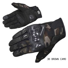 цена на GK-197 spring and summer carbon fiber mesh touch screen racing motorcycle locomotive anti-fall riding gloves motorrad