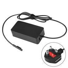 Аксессуары Адаптер питания планшет зарядное устройство розетка 15 в 4A батарея Зарядка Замена ПК косметические принадлежности для поверхности microsoft