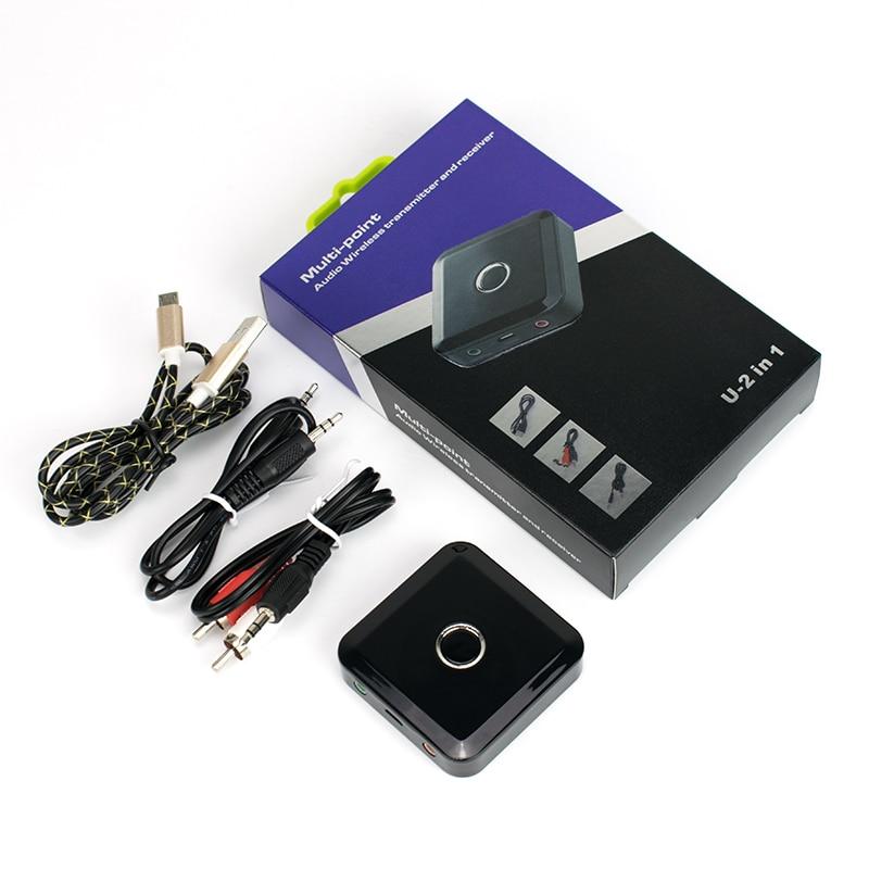 4.0 récepteur sans fil Bluetooth 3.5 MM récepteur Audio stéréo récepteur de musique Bluetooth adaptateur Audio transmetteur Bluetooth - 6