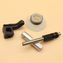 Масляный насос поршневой пикап червячный редуктор комплект для HUSQVARNA 340 350 345 346XP 353 запасные части для бензопилы