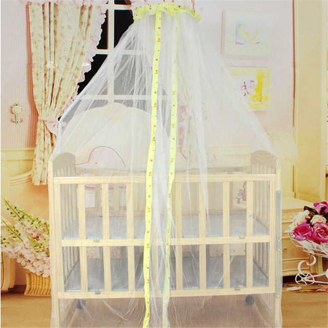 Summer Baby Bed Curtain Mosquito Mesh Dome Curtain Net for Newborns Crib Cot Canopy moskitonetz baldachin & Summer Baby Bed Curtain Mosquito Mesh Dome Curtain Net for ...