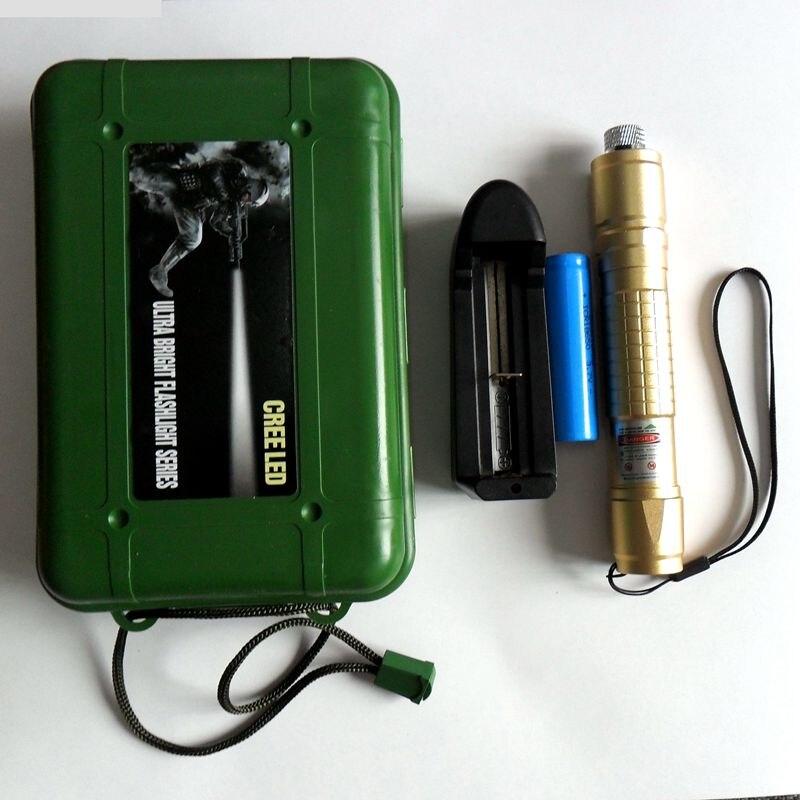 ReadStar 018 high Green Laser pointer laser pen burn matcch laser only & Gift set optional 18650 battery and charger