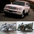 Car Front Headlights For LX470 1998-2007