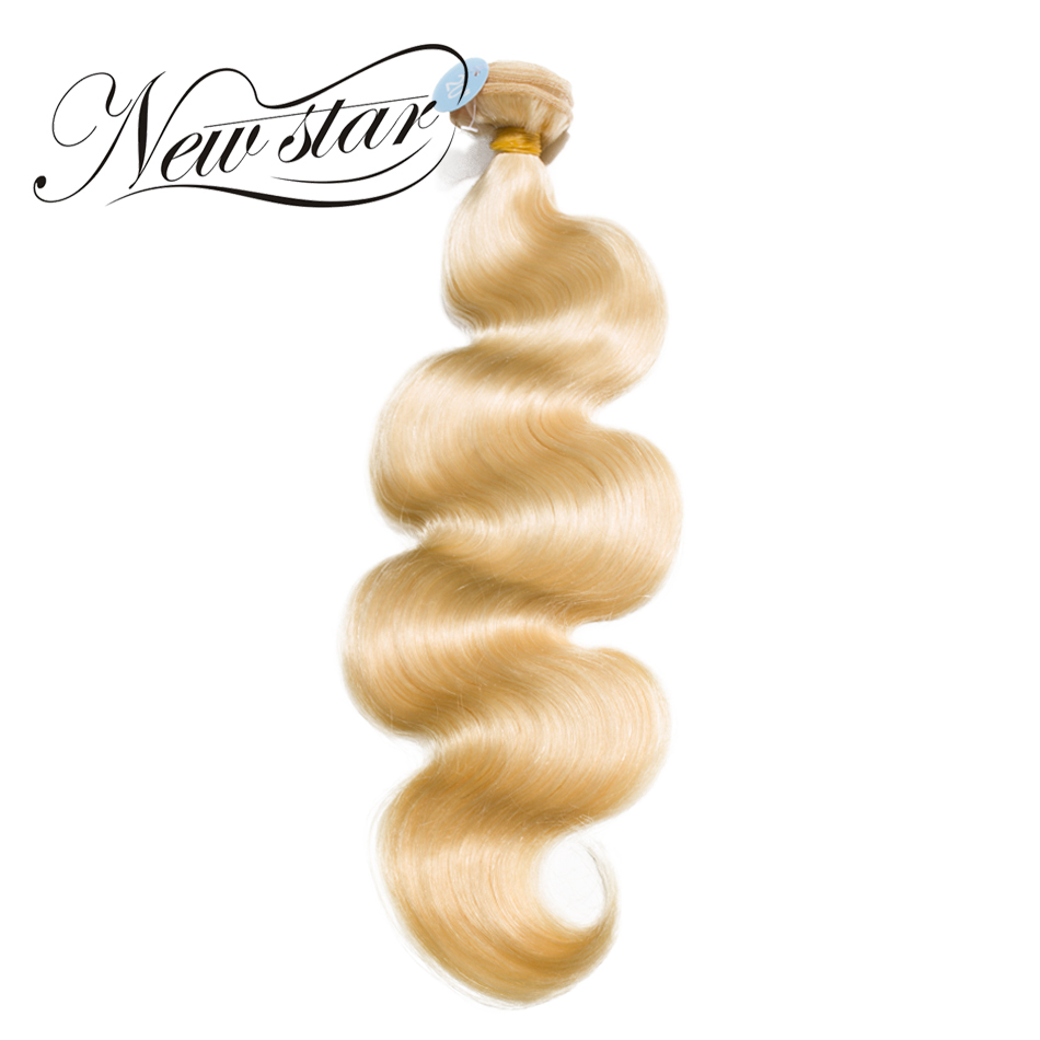 NY STAR 10 '' - 34 '' Inches 613 Blond Body Wave Bundles Brasilian - Barbershop
