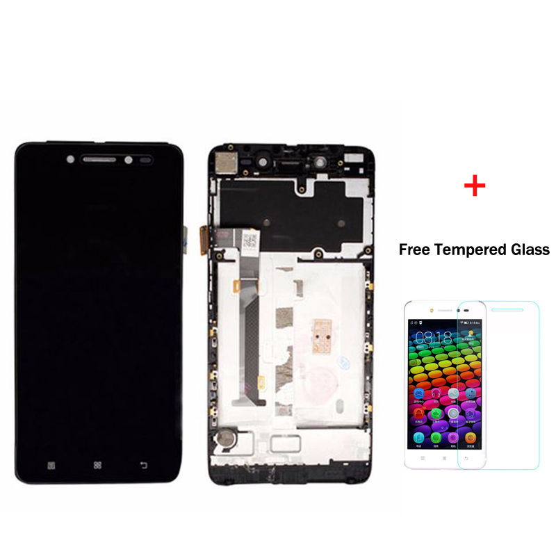 100 Original For Lenovo S90 LCD Display Touch Screen Digitizer Assembly With Frame S90 T S90
