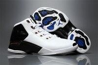 JORDAN 17 Basketball Shoes AJ17 Hight Top JORDAN White Sneakers Men Basketball Shoes Jordan 17 Size:41 47