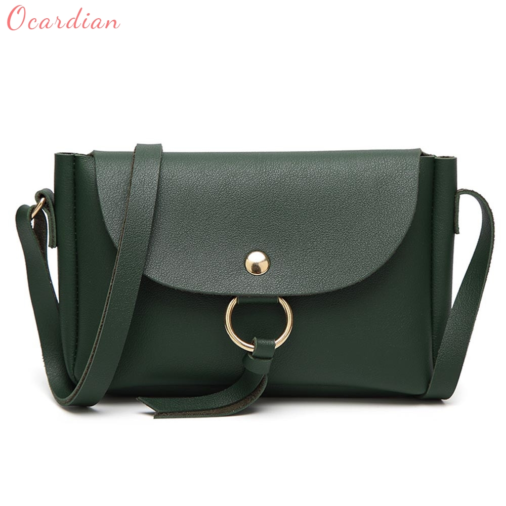 OCARDIAN High Quality Fashion Luxury Designer Women Leather Handbag Crossbody Shoulder Messenger Phone Coin Bag Dropship 170711 2018 brand designer women messenger bags crossbody soft leather shoulder bag high quality fashion women bag luxury handbag l8 53