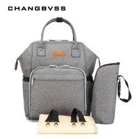 Women Backpack High Capacity 34 20 38cm Baby Bag Simple Style Waterproof Nappy Bag Portable Baby