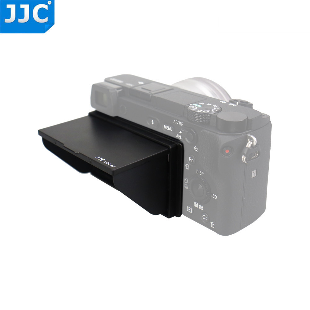 JJC LCH-A6  LCD Hood Protector Screen Cover For Sony A6000/A6300/A6400/A6500 Camera