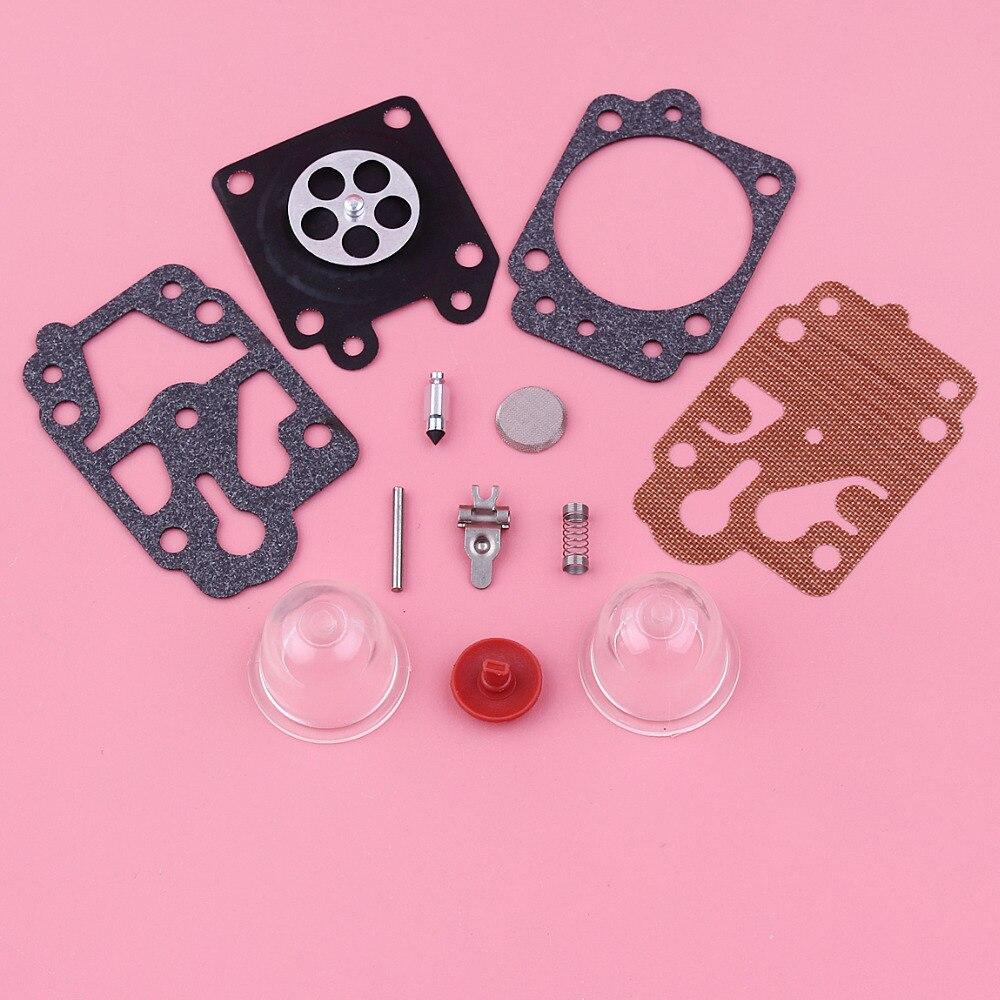Kit de r/éparation de reconstruction de carburateur de carburateur pour le moteur de d/ébroussailleuse CG260 CG330 CG430