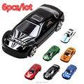 6 шт./лот Сплав + пластиковые модели автомобиля игрушечную машинку подарки детские игрушки
