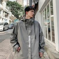 Jacket Men Autumn Winter Clothes Loose Coat Cotton Harajuku Dress StreetWear Military M 5XL Large Windbreaker Fashion Hip Hop