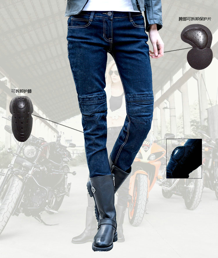 2016 Real Motorcycle Riding Pants Uglybros Incision Ubs10 Jeans/leisure Motorcycle Jeans/female Money Road Locomotive Jeans fashion casual straight uglybros incision ubs10 jeans motorcycle pants male moto pants protection for motorcycle pants