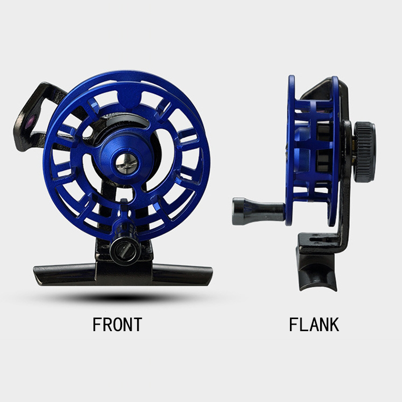 FB50 full metal band drain before playing, ice fishing, raft, fly fishing, fishing line round, fishing vessels