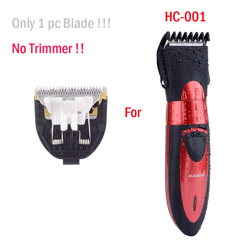 Hair Clipper Blade Stainless Steel Head for Hair Trimmer KAIRUI HC001 Men Baby Hair Cutting Machine Shaver Razor Gromming Tool vik max adult kids dark blue leather figure skate shoes with aluminium alloy frame and stainless steel ice blade