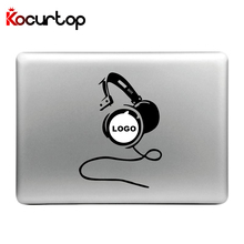 Fashion Laptop Sticker Vinyl Decal for Apple Macbook Air Pro 13 11 15 inch Cool Headphones Crown Funny Laptop Skin for Macbook