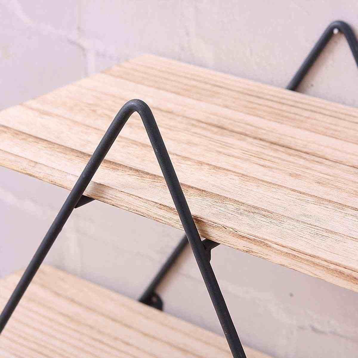 Новый 50x50x19 см полка Железный контейнер для хранения Искусство деревянный Ретро настенный книжный шкаф дверь пальто вешалка для хранения вешалок Органайзер