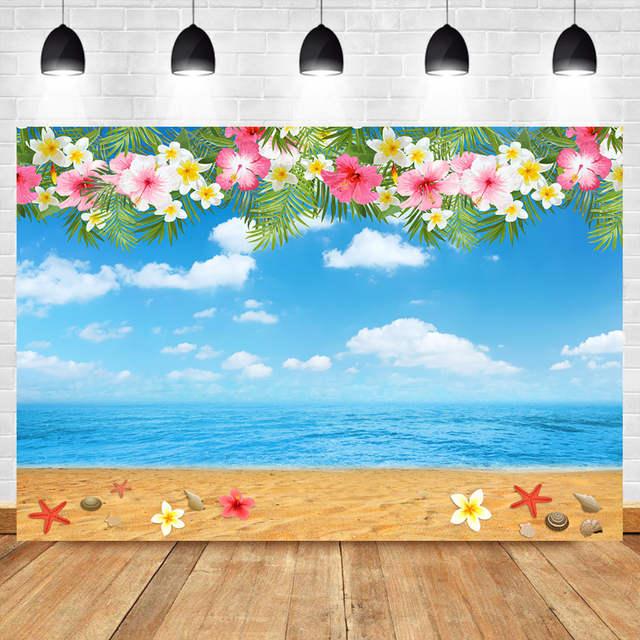 neoback beach backdrop hawaiian