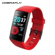 COBRAFLY Смарт-часы для мужчин и женщин, водонепроницаемый смарт-браслет, фитнес-трекер, смарт-браслет для Android и IOS