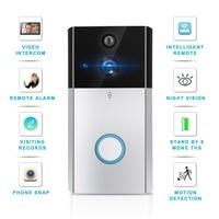 Door Bell EU/US /UK Wifi Phone Remote Intercom Video Surveillance Camera Wireless Doorbell Infrared Night Vision HD Doorbell