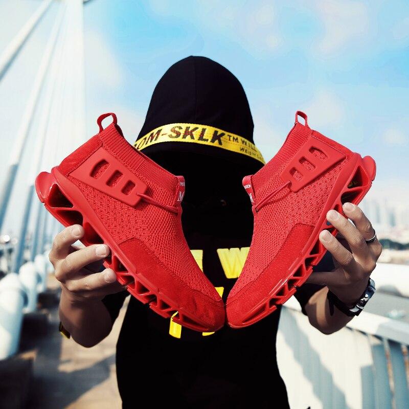 Chaussures baskets de luxe pour hommes haut de gamme chaussures souples respirantes chaussures pour hommes baskets adultes été antidérapantes Krasovki Zapatos