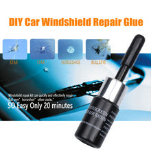 DIY Automobile Windshield repair kit tool Car glass repair resin glue For Crack Windscreen Repair Tool Sets(China)
