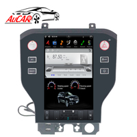2 DIN Android Tesla IPS 11.8 Car radiofor ford mustang navigation 2015 2016 2017 1 DIN car cassette player stereo autoradio
