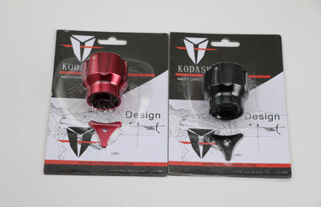 Freeshipping KODASKIN Trasera tapón del depósito de líquido rojo Ducabike para Diavel