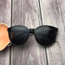 Солнцезащитные очки «кошачий глаз» женские, нежные дизайнерские солнечные аксессуары в корейском стиле, с монстром и V образным вырезом, элегантные модные, 2020