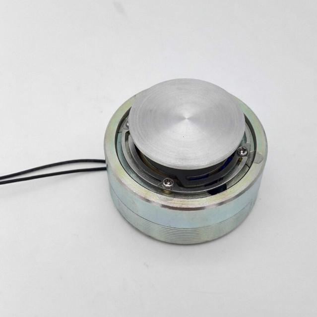 1 unids 25 w 4 ohmios 50mm altavoz de la vibración de resonancia del altavoz de graves de gama completa