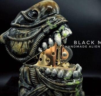 Handmade Art Collection Alien Resin Steampunk Lighter3