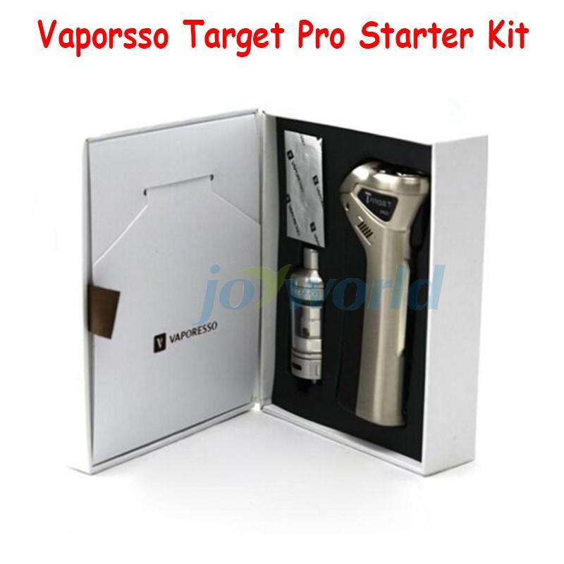 100% Vaporesso TARGET pro VTC 75W Starter Kit new target vtc 75w kit With Ceramic cCELL Tank Coil Temperature Control vapor Mod (7)