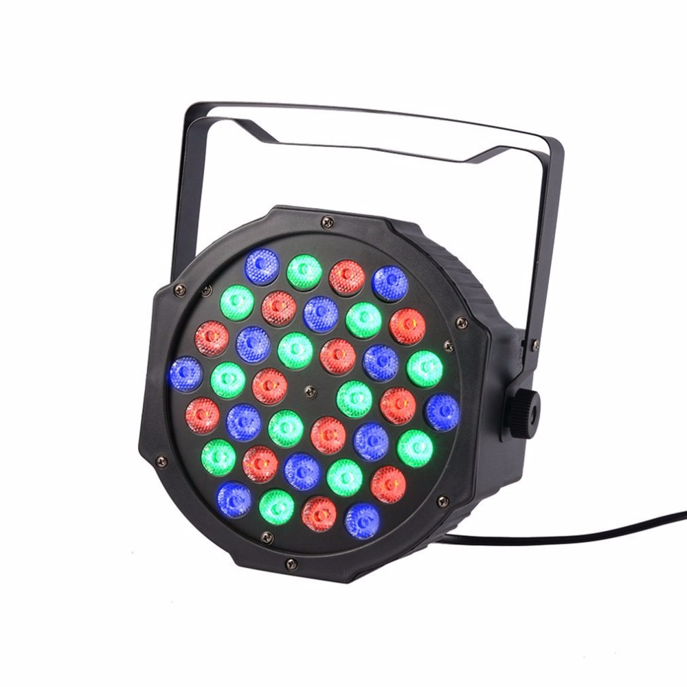 Versatile Bright 36 LED PAR Light Lighting With RGB Smooth Color Mixing Effect For DJ Stage And Party Venues