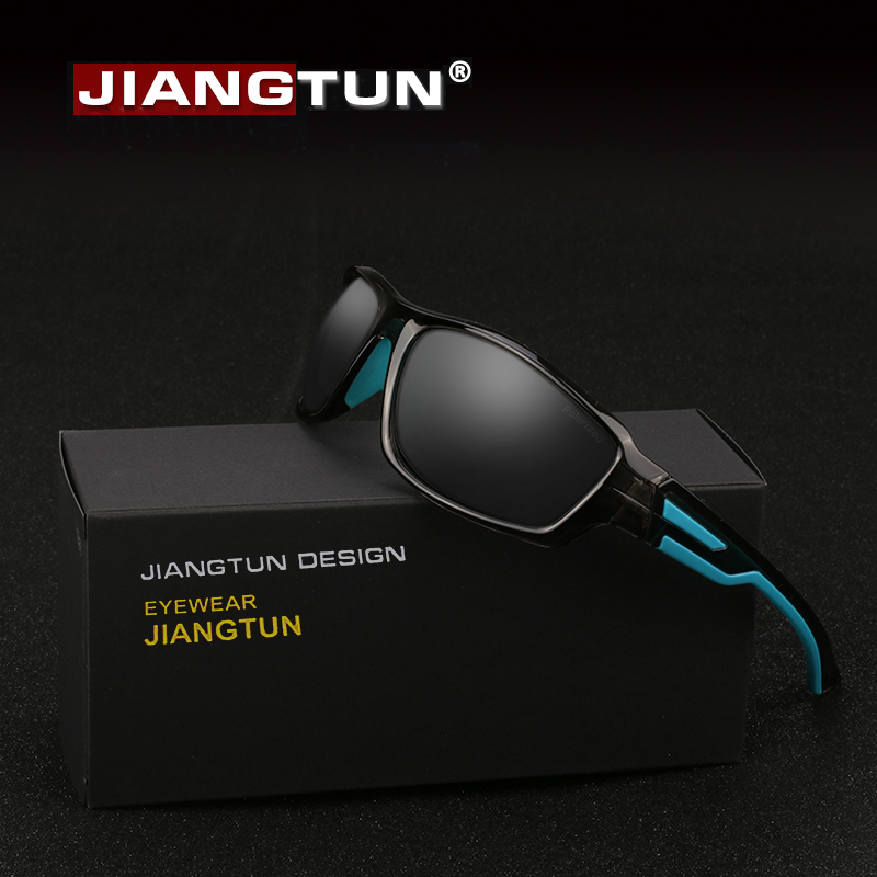 JIANGTUN Bicolor Polarized Sunglasses Men Sun Glasses Brand Designer Vintage Male Google ...