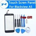 Blackview a5 toque substituição do painel de toque digitador de vidro da tela nova chegam para blackview a5