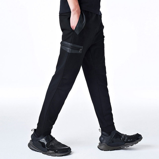 b148d20b0bc 2017 New Dry Men s Pants pocket Full Length Men HIPHOP Joggers Pants Plus  Size Trousers Men Belt Streetwear Men s Sportswear