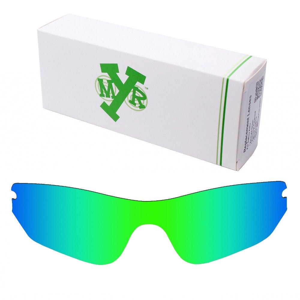 Mryok POLARISÉES verres de Remplacement pour Oakley Radar lunettes de Soleil  de Bord Vert Émeraude ba9a8ccbbe5d