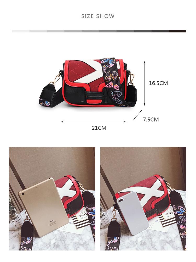 05cc73416c95 MENGXILU Small Crossbody Bags For Women Embroidery Flap Women ...