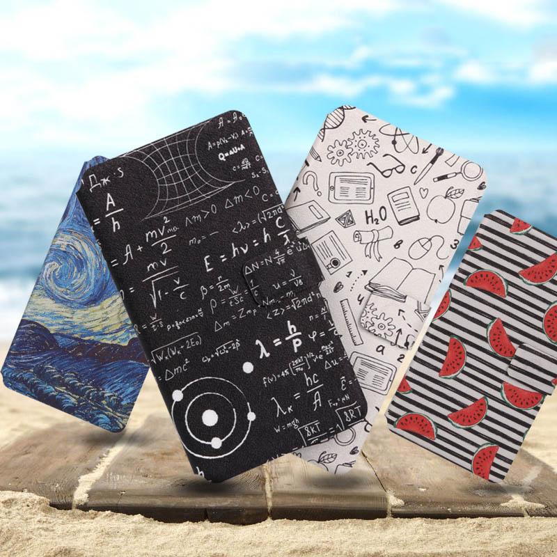 Luxury Flip Wallet Case For <font><b>NOKIA</b></font> <font><b>1</b></font> 2 <font><b>3</b></font> 5 6 7 8 cover Painting Book Flip Style Mobile Phone Cases For <font><b>NOKIA</b></font> 6 <font><b>2018</b></font> 7 Plus Cover image