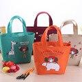 Водонепроницаемые сумки для ноутбуков толще изоляции риса обед с рисом холст обед сумки ткань оксфорд сумки мешочек