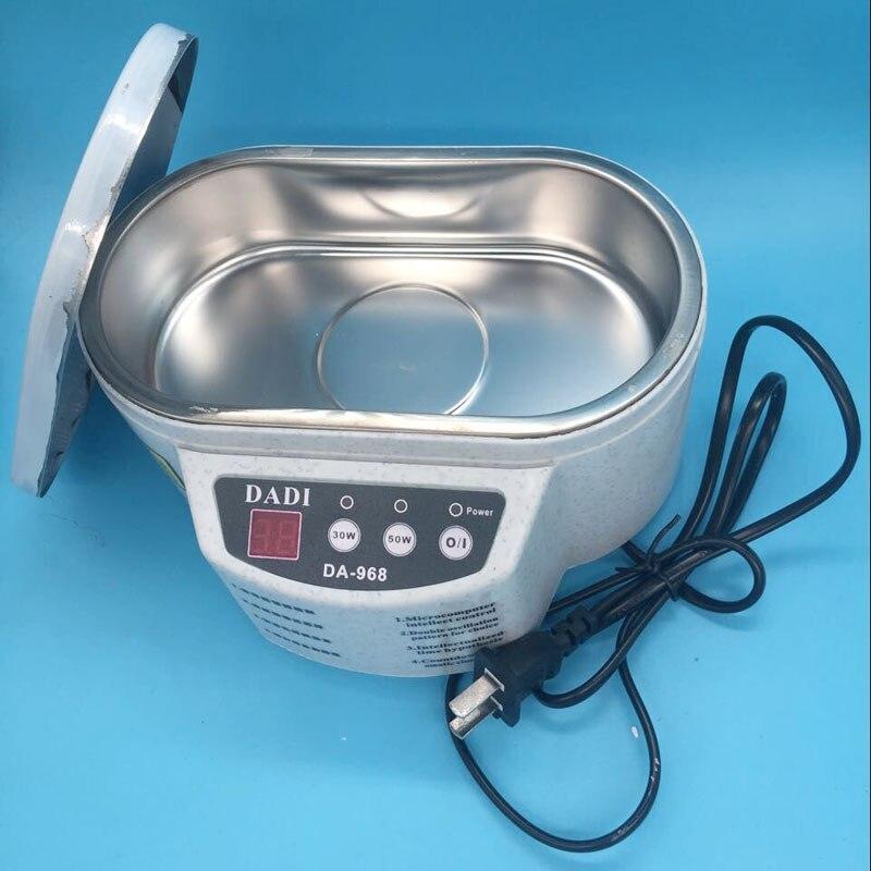 Nettoyeur à ultrasons machine pour ep-s-on DX4 DX5 DX7 pour sei-k-o 510 35pl 50pl Xaar 128 tête d'impression lavage tête d'impression nettoyage