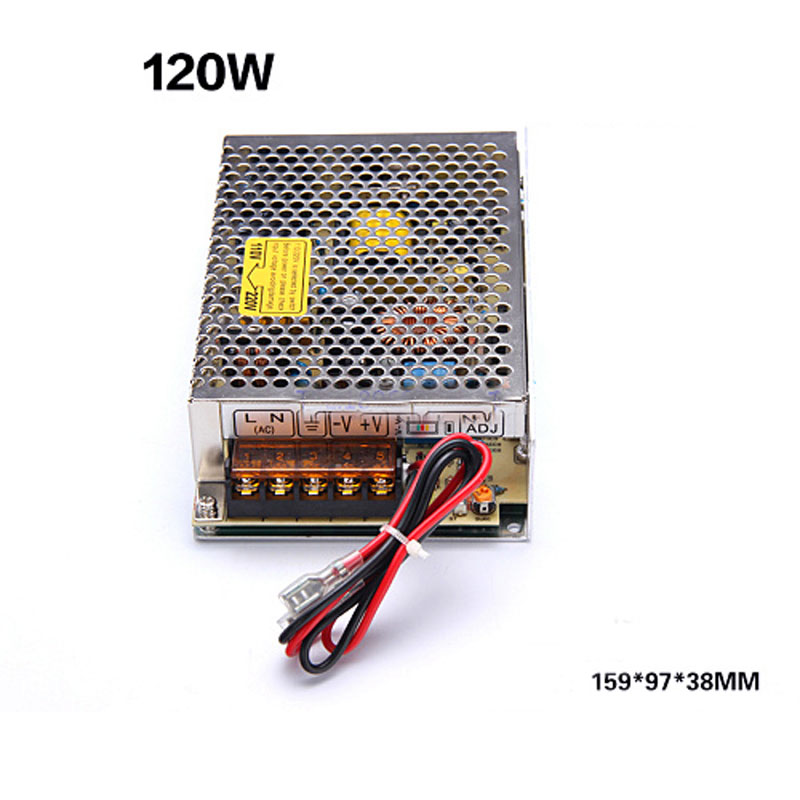 12V 10A Uninterrupted power supply 120W Monitor charging type Switching Mode Power Supply