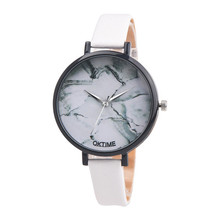 2017 Luxury Brand Women Fashion Leather Band Analog Quartz Round Wrist Watch Watches