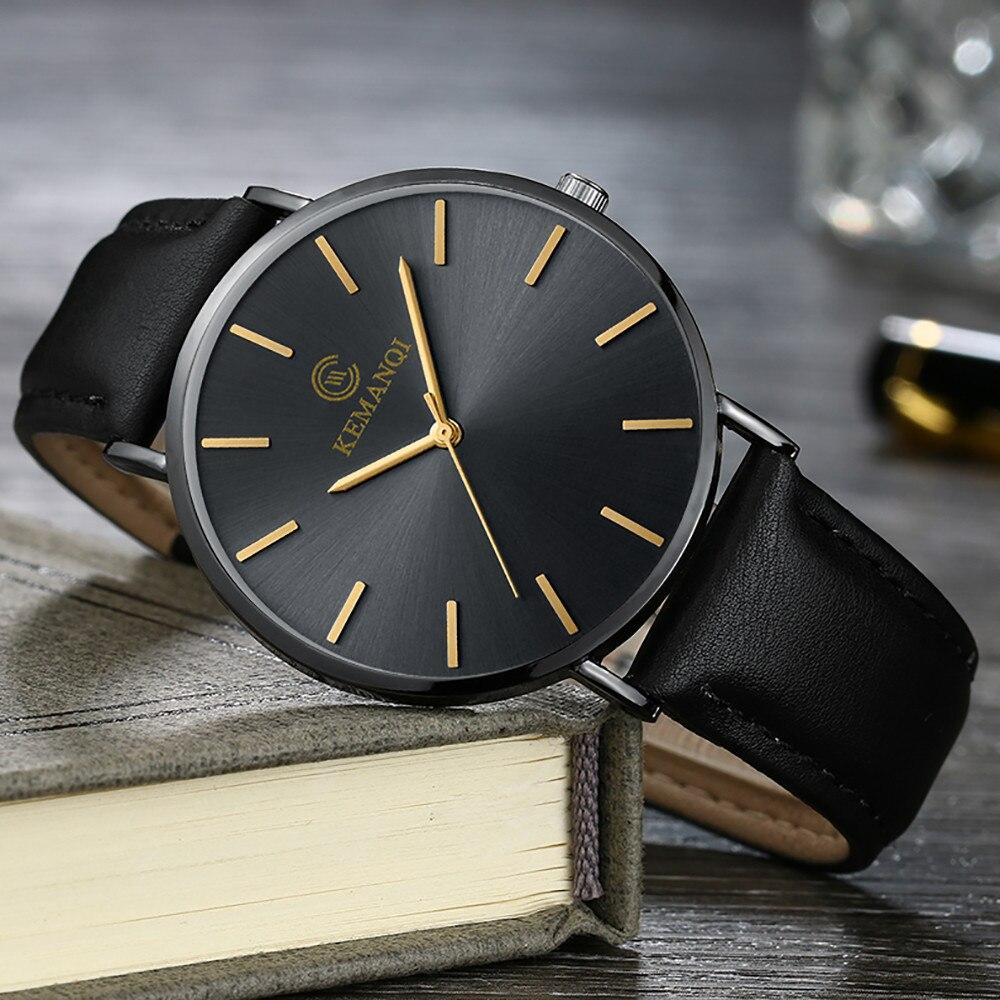 6.5mm Ultra-thin Men's Watch 2019 New Fashion Watches Simple Business Men Quartz Watches Male Clock relogio masculino