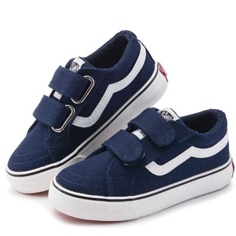 207fd417d Брендовая парусиновая детская обувь спортивные дышащие кроссовки для  мальчиков Брендовая детская обувь для девочек джинсы джинсовые