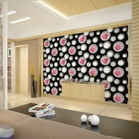 ارتفع أحمر أسود خلفيات نوم غرفة المعيشة بسيطة موردن تجميل صالون فندق الأزياء الأرجواني جدار ديكور الأرجواني الوردي زهرة